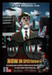 They Live 3d poster by smalltownhero