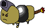 Cannon Bug 'Fakemon' by Cheeyev