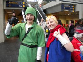 Link and Tetra by kittypetro