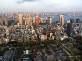 STOCK AIRBORNE IMAGERY JAPAN NO:010030023 by hirolus
