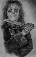 Alice Cooper by AnnikeAndrews
