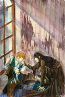 Sirius Giving Comfort To Remus by pumpkin-patch91
