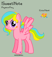 MLP - SweetNote Reference Sheet by porcelian-doll