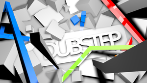 DUBSTEP Logo Wallpaper by Zedj