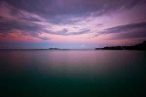 Rangitoto from Rothesay Bay by MisterDedication