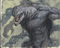 Venom by EdwardDelandreArt