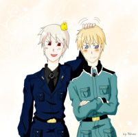 Germans brothers S.S by Nihui