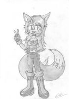 Gift art - Maddy by EUAN-THE-ECHIDHOG