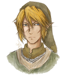 Another Link Bust by Hylian-Link
