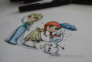 :Frozen: by NiciDraw