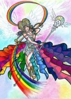Iris, Messenger of the Rainbow by thelettergii