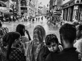Waiting for rain to pass by.. by TanBekdemir