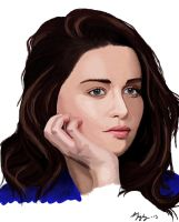 Emilia Clarke by sora-bubble