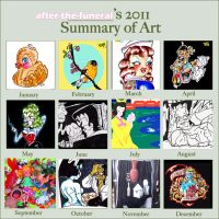 2011 Summary of Art by after-the-funeral