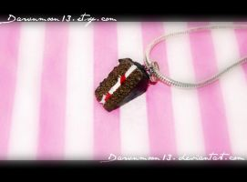Black Forest Gateau Charm by Dawnmoon13