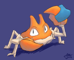 Krabby doodle thing by cavemonster