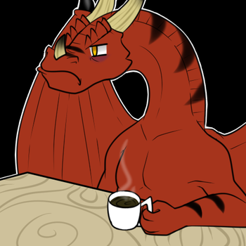Cranky Dragon by DandyBound