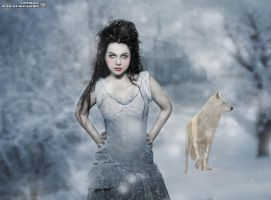 Snow White Queen by xx-Lethal-xx