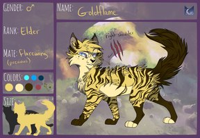 TWG - Goldflame - MoonClan - :RETIRED: by MistDapple