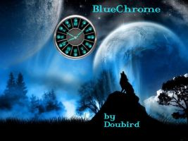 BlueChrome Cairo-Clock by GrynayS