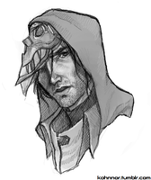 Corvo by InvaderLi