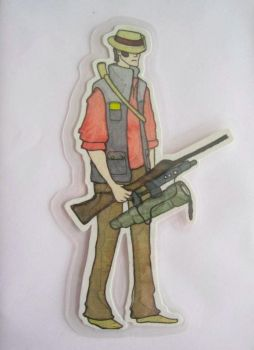 Team Fortress Sniper Dude by ENT77