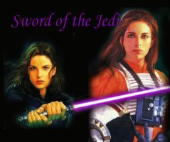 Jaina Solo - Sword of the Jedi by blamethemonkey
