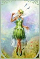 Green Fairy 2 by curlyhair