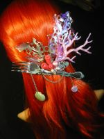 Arielles Treasure - Mermaid Headgear II by Ganjamira