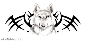 Wolf Tribal by Kat-Nicholson
