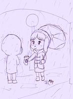 Isabelle and Digby Doodle by JezMM