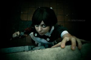 A little one - Bioshock Cosplay by Thecrystalshoe