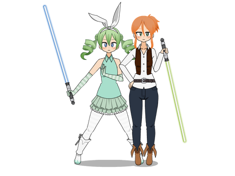 May the 4th Be With You!! by IrkenFangirl