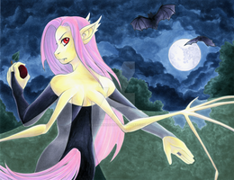 Bats in the Orchard by Lorien077