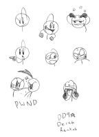 Mr.Stickman Expressions by DinyDino9