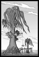 Alien Watertree by Marrekie