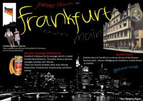 Poster about Frankfurt by ren241295