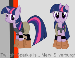 MGS MLP: Twilight Silverburgh 2 by Fishinabarrrel