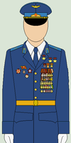 Soviet Airforce Officer 3.0 by bar27262