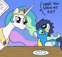 EqDTG II - 15 - Pony being inquisitive by Fadri