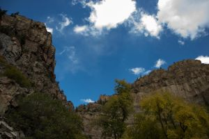 The Sky Above Hanging Lake by jkire