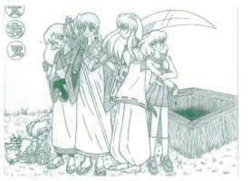 INUYASHA CAST by Fred-Weasley
