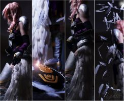 Lightning Final Fantasy 13 - 2 by Yulice