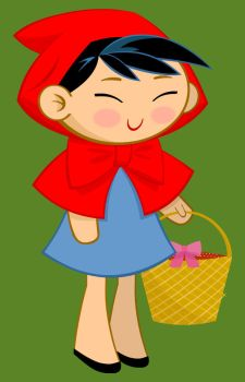 Little Red Ridding Hood by louisefournier
