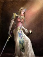 ZELDA- Twilight Princess by JenPenJen