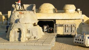 Tatooine 3D terrain by wolf74145