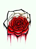 Bloody Rose by Jenna-Danielle