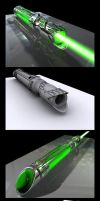 3D Lightsaber by Hailfire6