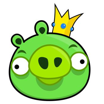 Angry Bird - King Pig by life-as-a-coder