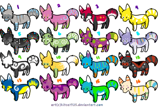 Wolf adopts 5 by Eruantron